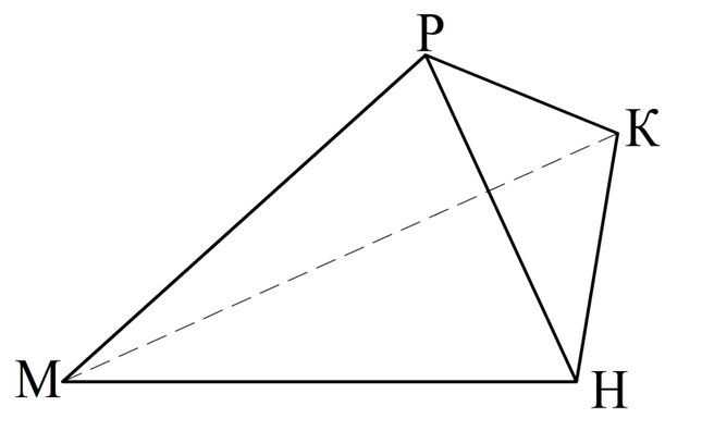 2 tetraedr i parallelepiped