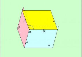 Урок 7: Двугранный угол