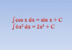 Урок 6: Интеграл и первообразная